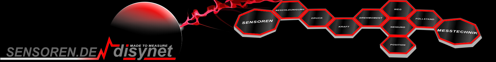 Maßgeschneiderte Sensortechnik
