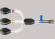 60033A spritzwassergeschütztes Kabel