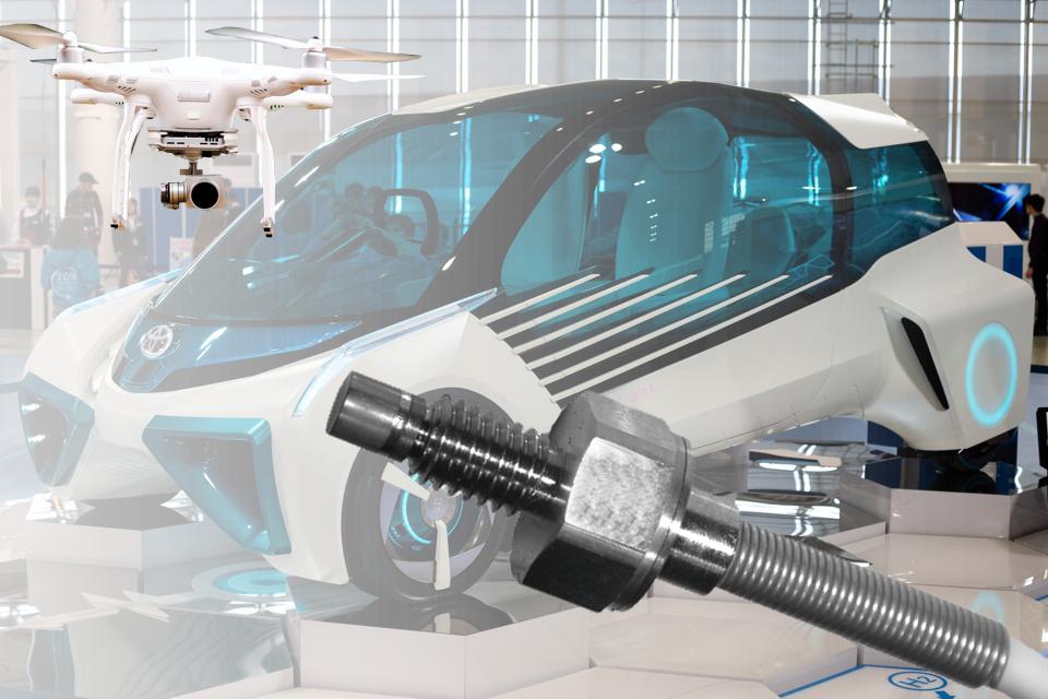 Sensoren für wasserstoff-basierte Fahrzeugantriebe